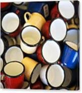 Coffee Cups Canvas Print