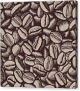 Coffee In Grain Canvas Print