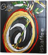 Coffee Mokka Canvas Print