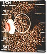 Coffee On The Menu Canvas Print