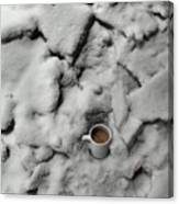 Coffee On The Rocks Canvas Print