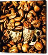 Coffee Shop Companions  Canvas Print