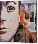 Coffee Shop Sitting Canvas Print