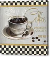 Coffee Shoppe 1 Canvas Print