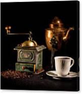 Coffee-time Canvas Print