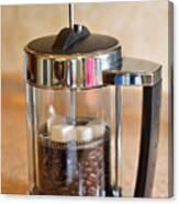 Coffee With Sugar Canvas Print