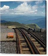 Cog Railway Stop Canvas Print