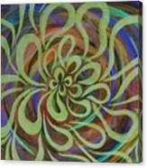 Cognitive Bloom Invert Canvas Print