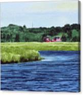 Cohansey River Canvas Print