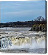 Cohoes Falls New York Canvas Print