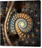 Coiled Spirals Canvas Print