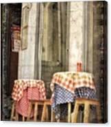 Coimbra Cafe Canvas Print