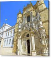 Coimbra Historic City Canvas Print