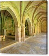 Coimbra Old Cathedral Canvas Print