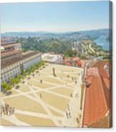 Coimbra University Aerial Canvas Print