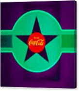 Coke N Lime Canvas Print