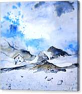 Col Du Pourtalet In The Pyrenees 01 Canvas Print