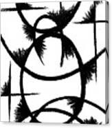Colapse II Canvas Print