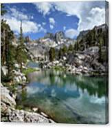 Colby Lake Outlet - Sierra Canvas Print