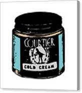 Cold Cream Canvas Print