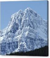 Cold Mountain- Banff National Park Canvas Print