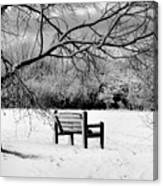Cold Seat Canvas Print
