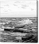 Cold Shore Canvas Print