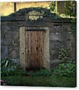 Cold Storage Crypt Canvas Print