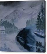 Cold Stream 2 Canvas Print