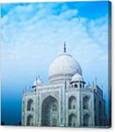 Cold Taj Canvas Print