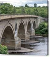Coldstream Bridge 1807 Canvas Print