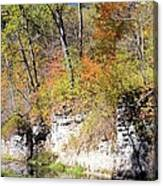 Coldwater Bluffs Canvas Print