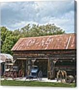 Coldwater Vintage Carriage House Canvas Print