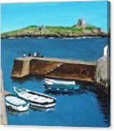 Coliemore Harbour, Dalkey Canvas Print