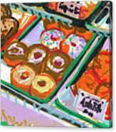 Coligny Donuts Canvas Print