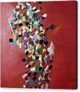Collage Of Color Canvas Print