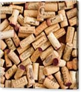 Collection Of Corks Canvas Print