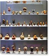 Collection Of Figurines Canvas Print