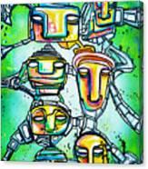 Collective Minds Canvas Print