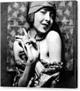Colleen Moore, Around 1927 Canvas Print