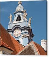 Collegiate Church Tower Canvas Print
