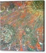 Colliding Galexies Canvas Print