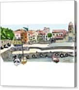 Collioure,    Cote De Vermeille Canvas Print