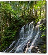 Colliery Falls Canvas Print