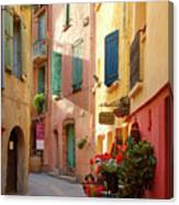 Collioure Alley Canvas Print