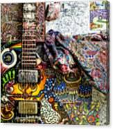 Collorfull Music Canvas Print
