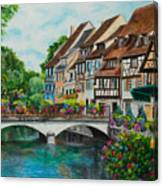 Colmar In Full Bloom Canvas Print