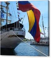 Colombian Tall Ship Canvas Print