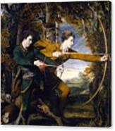 Colonel Acland And Lord Sidney Archers Canvas Print