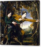 Colonel Acland And Lord Sydney The Archers Canvas Print